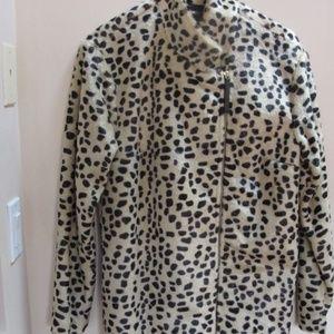 By Malene Birger Jackets & Coats - NWT Malene Birger Leopard Faux Fur Coat Sz US 2/4